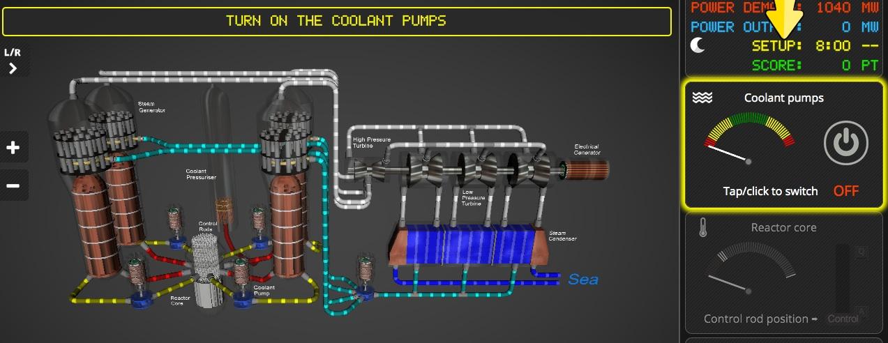 Nuclear simulator - Dalton